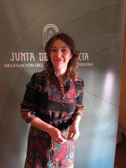 La Delegada Del Gobierno Andaluz En Córdoba, Isabel Ambrosio