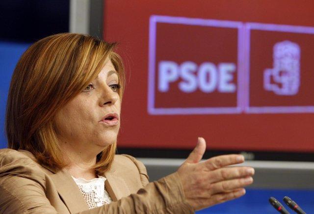 La Portavoz Del Comité Electoral Socialista, Elena Valenciano