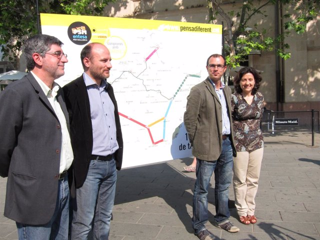Biel Vicens, Toni Verger, Biel Barceló Y Fina Santiago