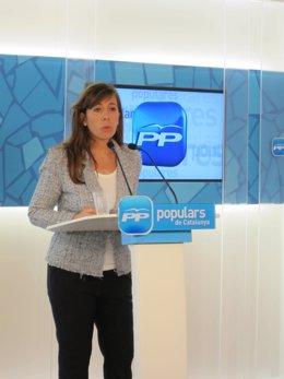 Alícia Sánchez Camacho En Rueda De Prensa