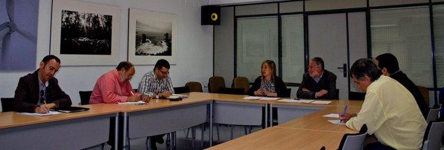 Gómez De Diego Se Reúne Con Los Representantes De Edcuación De Los Sindicatos