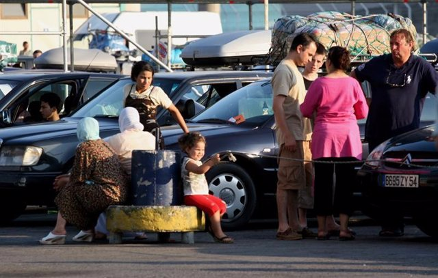Imagen de la Operación Paso del Estrecho