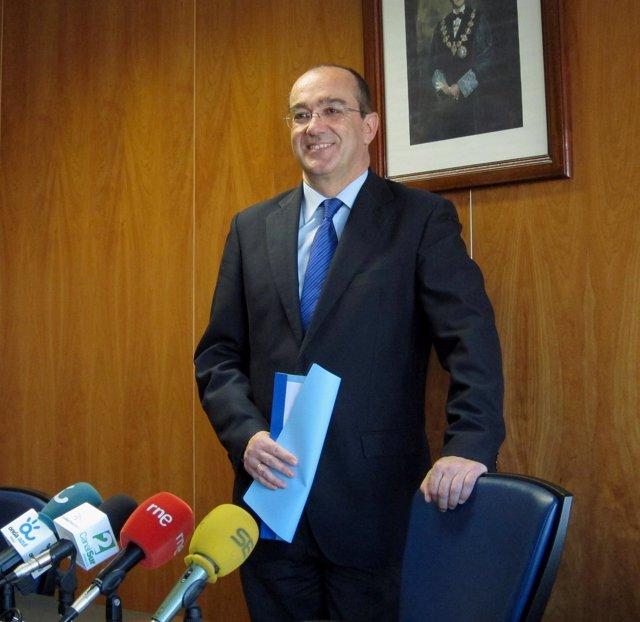 El Presidente De La Audiencia De Málaga, Francisco Javier Arroyo Fiestas.