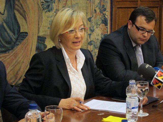 Candidata Del PSOE A La Presidencia De Aragón, Eva Almunia