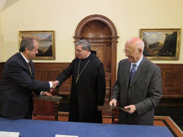 Puig, Soler Y Rigol En Montserrat