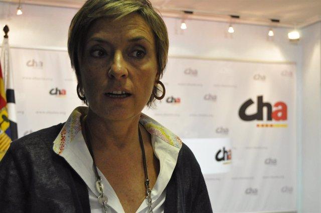 La Presidente De CHA, Nieves Ibeas.