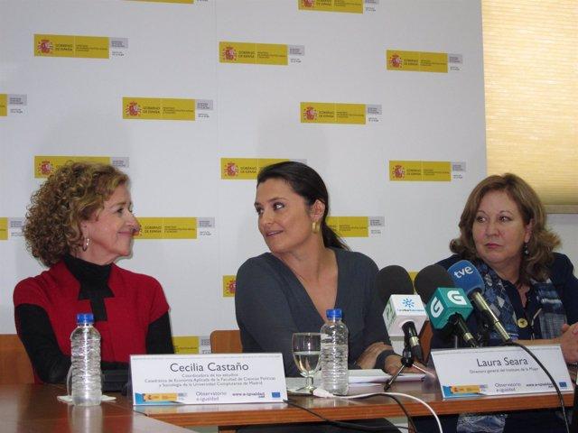 La Directora Del Instituto De La Mujer, Laura Seara