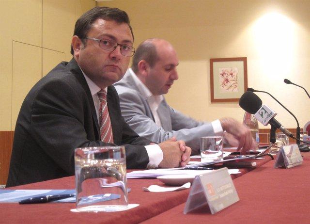 Heredia Y Conejo, En Rueda De Prensa