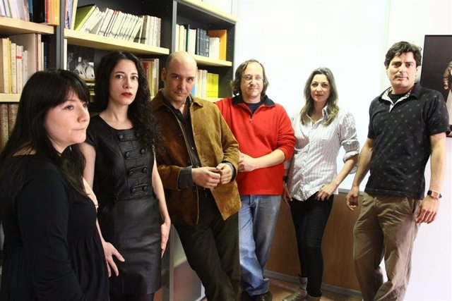 Eduardo Vasco Junto A Los Directores De 'Entremeses Barrocos'