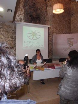 Presentación De La Feria Comarcal De Cuéllar