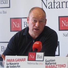 Txentxo Jiménez, Miembro De Nabai.