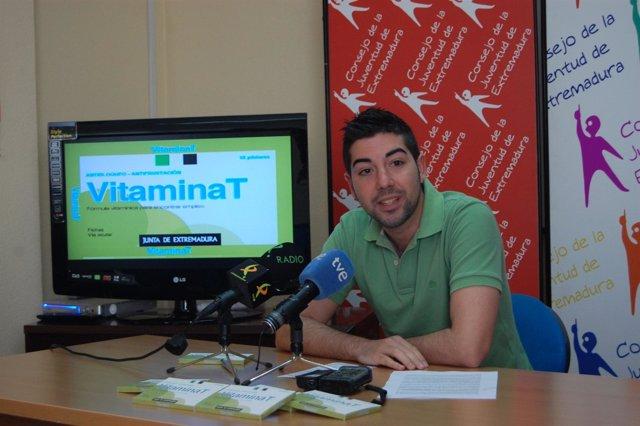 El Presidente De La Consejería De La Juventud De Extremadura, Pedro Durán