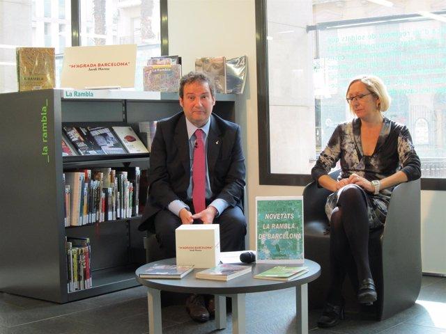 El Alcalde, Jordi Hereu, Y La Concejal Assumpta Escarp