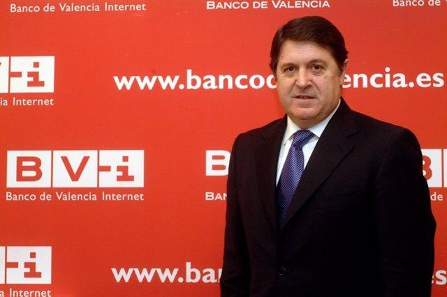 El Presidente De Banco De Valencia, José Luis Olivas.