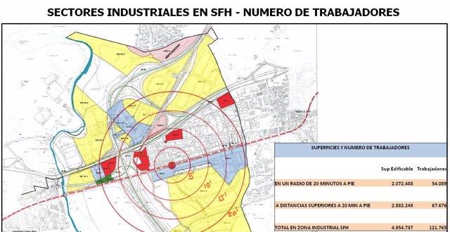Ayto. Y Empresarios Exigen Parada De Metro Tren En Polígonos Industriales De SFH