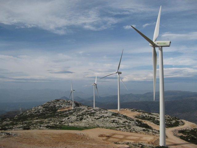 Parque eólico Iberdrola