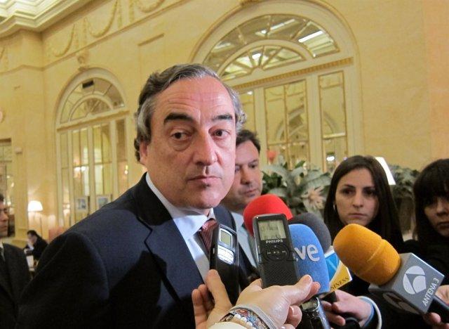 Presidente De La CEOE, Juan Rosell