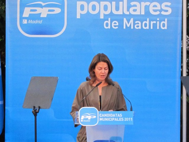Secretaria De Comunicación Del PP De Madrid, Lucía Figar