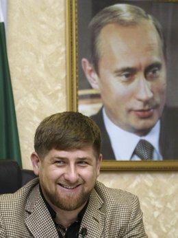 Ramzan Kadirov, presidente de Chechenia