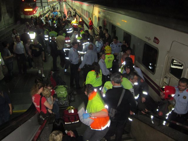 Accidente De Trenes En Clot