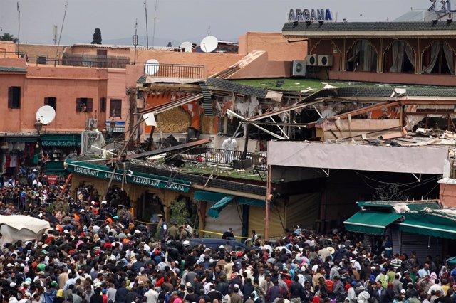 Explosión En Un Restaurante Marroquí De La Ciudad De Marrakesh