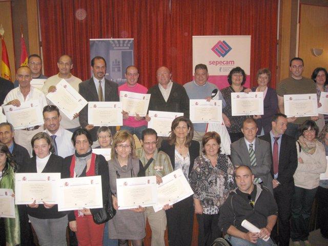 Cuenca, 28/04/11.- La Consejera De Empleo, Igualdad Y Juventud, Paula Fernández,