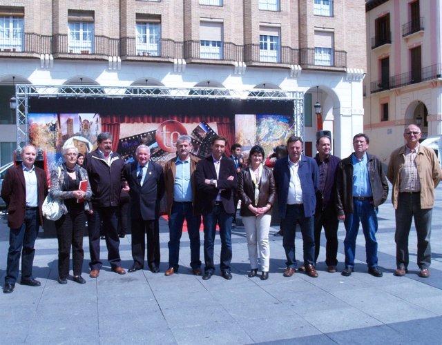 Visita Al Stand De La DPT En Huesca