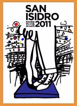 Cartel De Las Fiestas De San Isidro 2011 En Madrid
