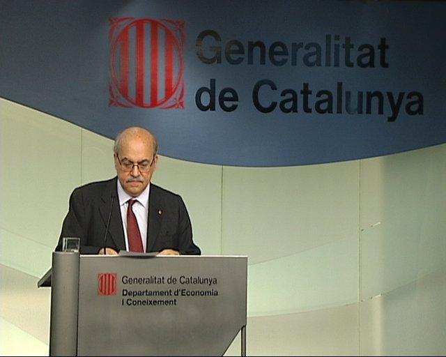Mas-Colell comparece en la Conselleria de Economía