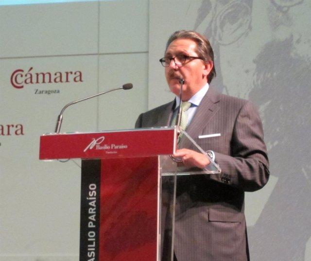 Presidente De La Cámara De Comercio E Industria De Zaragoza, Manuel Teruel