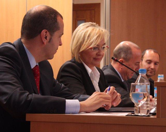 Eva Almunia En La Conferencia En ESIC