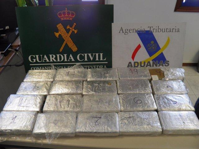 Interceptan Alrededor De 20 Kilos De Cocaína En Marín