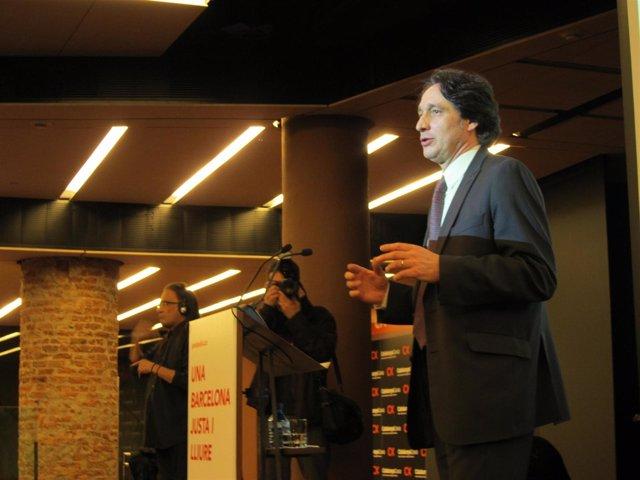 Jordi Portabella, líder de ERC en Barcelona