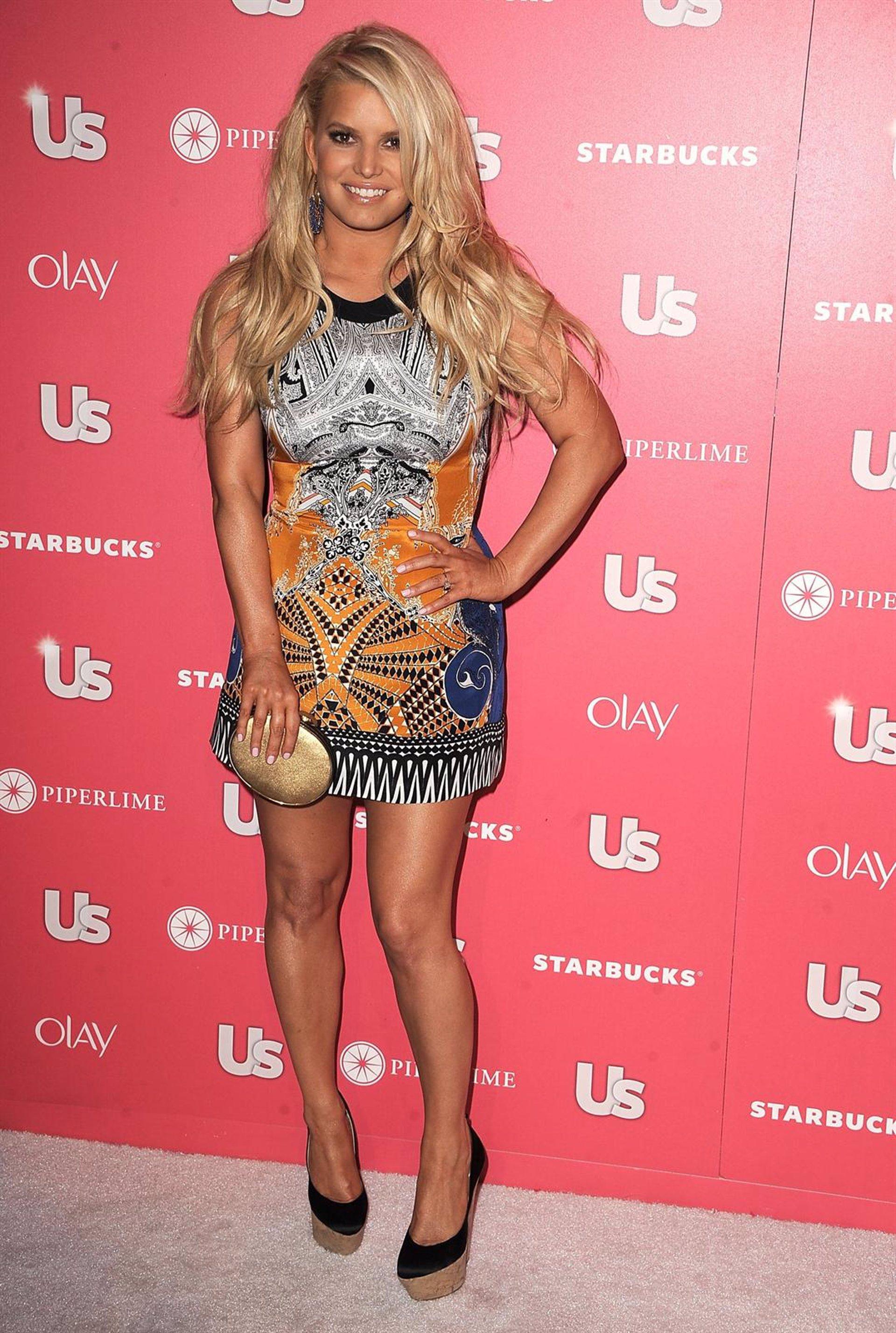 Jessica Simpson, icono de estilo del año
