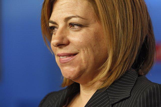 Elena Valenciano, secretaria de Relaciones Internacionales del PSOE