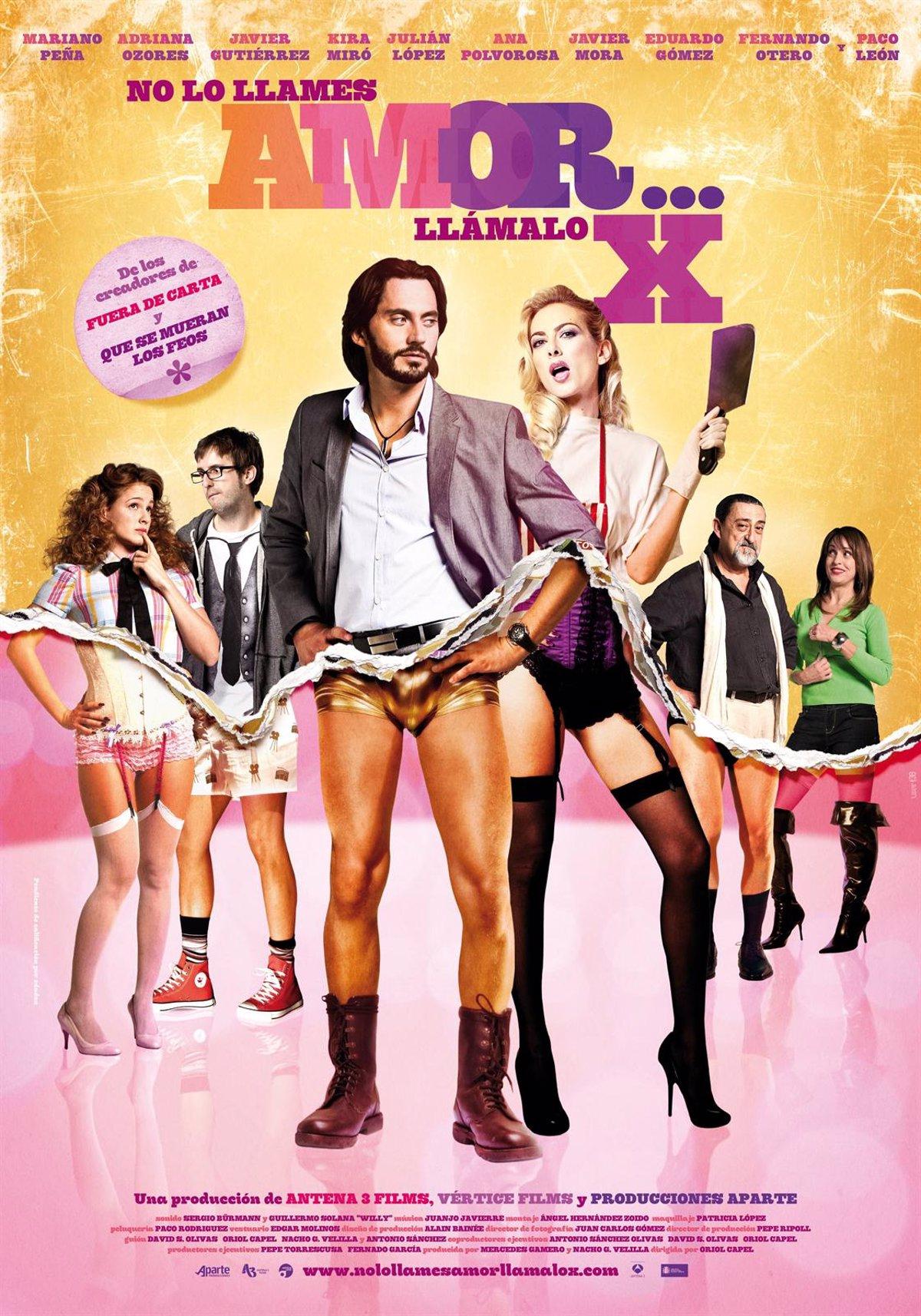 Pelicula Porno La Española llega a los cines 'no lo llames amor llámalo x', una