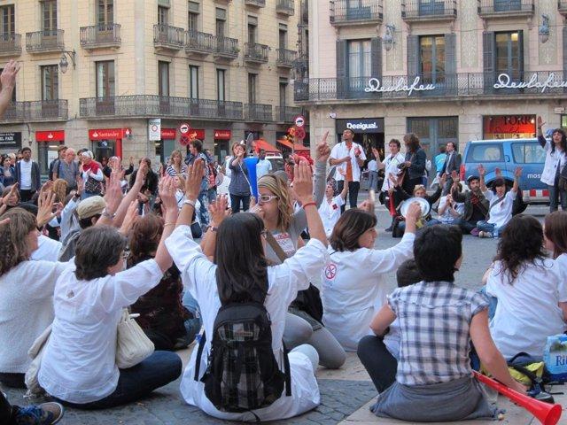 Protesta Por Los Recortes Sanitarios