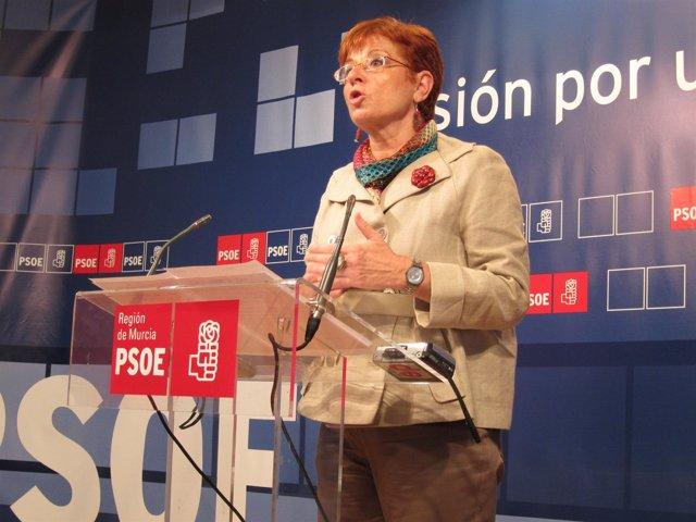Begoña García Retegui, candidata PSOE a la Comunidad