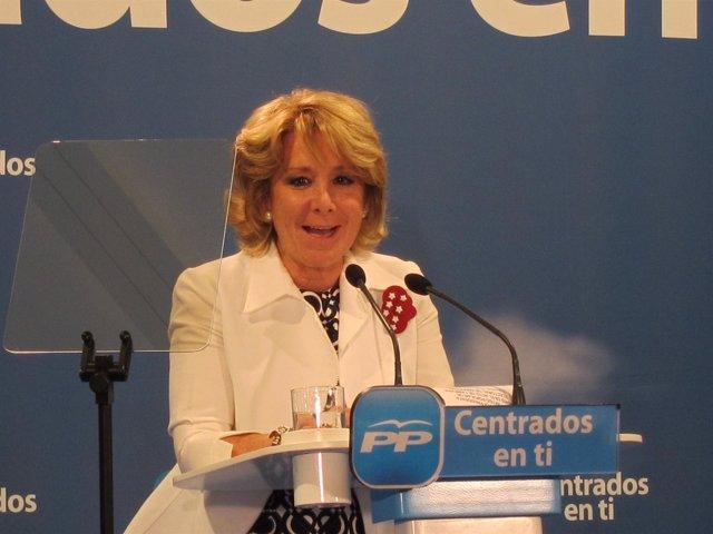 Esperanza Aguirre En Esquivias