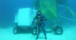 Astronauta Bajo El Mar