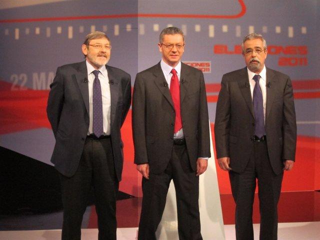 Gallardón, Lissaveztky Y Ángel Pérez