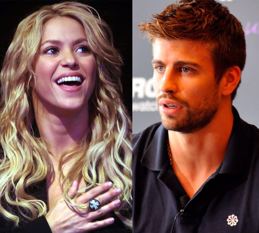 Montaje de Shakira y Piqué