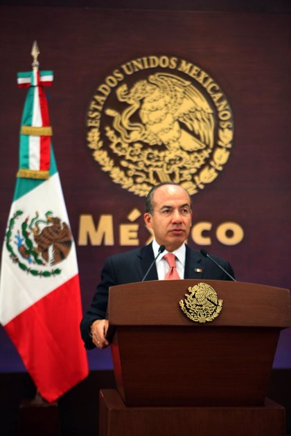 """México.- Calderón niega que su Gobierno mantenga una """"guerra"""" contra el narcotráfico en México"""