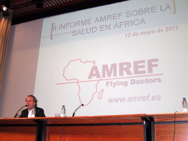 El Presidente De AMREF Flying Doctors España, El Doctor Alfonso Villalonga