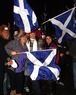 Escoceses De Fiesta