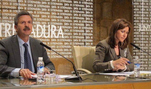 Navarro Y Pallero En Rueda De Prensa