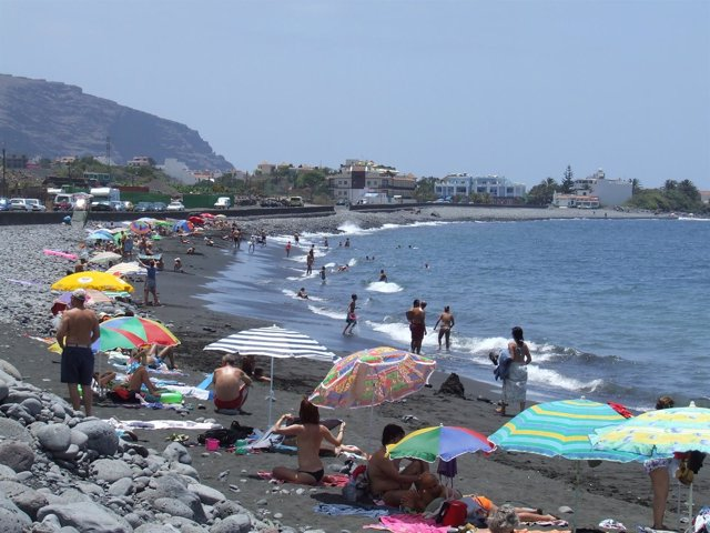 Playa de La Gomera.