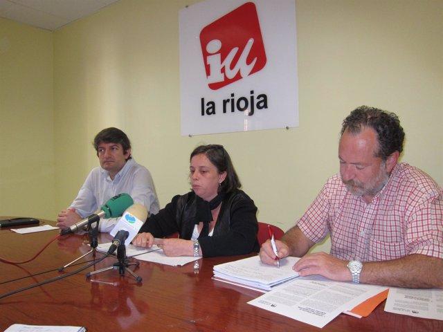 Moreno, Ollero Y Cámara, En La Rueda De Prensa
