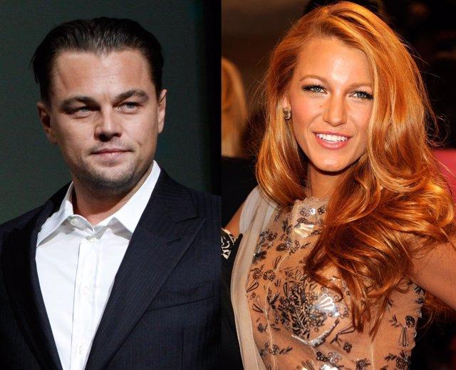 Leonardo Dicaprio Olvida A Bar Refaeli Con Blake Lively