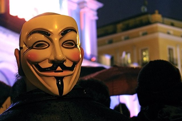 Anonymous Por Gaelx CC Flickr
